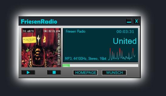 Friesenradio Player